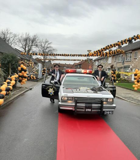 Winnaars Buurtversiering: Jan Steenstraat in Oldenzaal voor even Hollywood