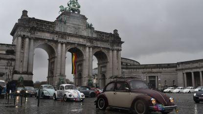 300 beetles en kevers rijden door Brussel voor 11e Love Bugs Parade