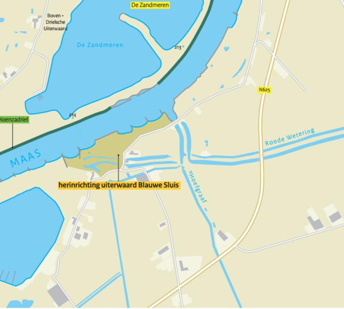 Het resultaat is een nieuw soort natuurgebied, waar de contouren van een oud fort te zien zijn en een nieuwe pier is aangelegd.