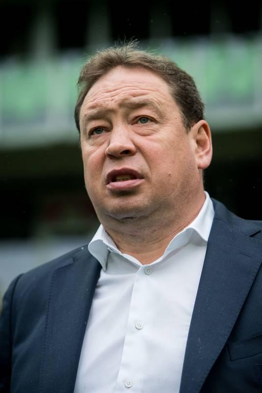 Vitesse-coach Leonid Sloetski.