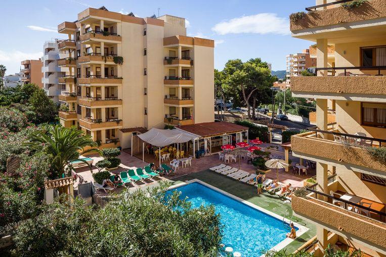 Het appartementencomplex Arlanza ligt in een populaire toeristenbuurt.
