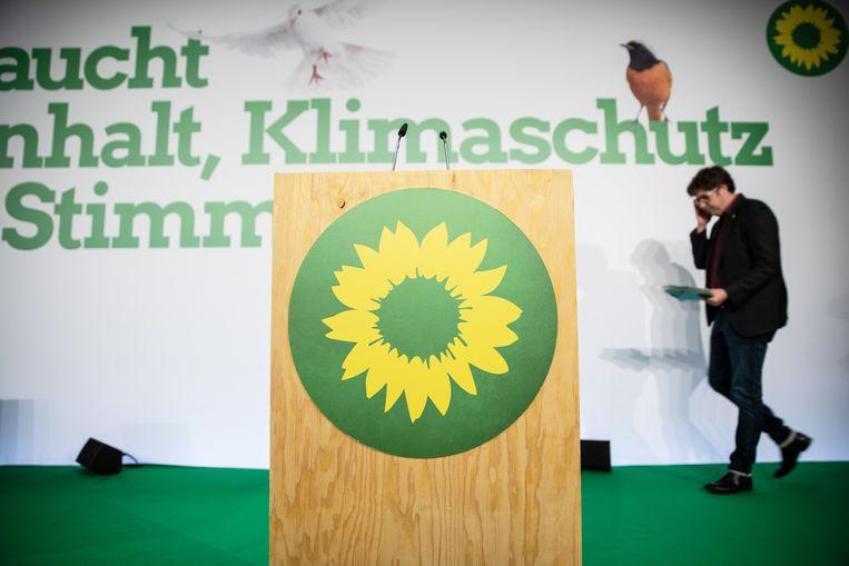 De Duitse Groenen hebben de wind in de zeilen.