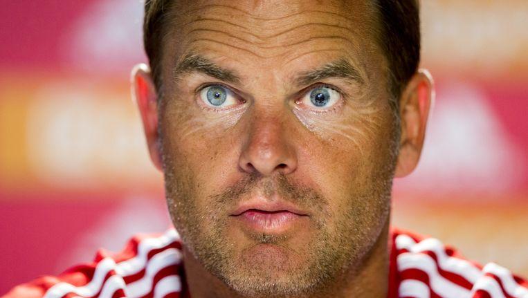 Ajax-trainer Frank de Boer. Beeld anp