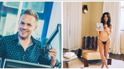 SHOWBITS. Peter Van de Veire gaat 20 uur lang radio maken en Kourtney Kardashian gaat weer maar eens uit de kleren