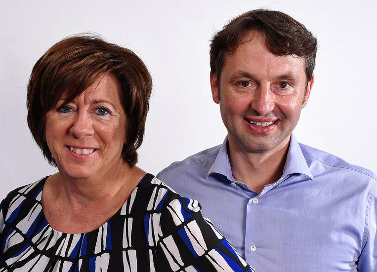 Rita Vanlangendock en Bram Delvaux zijn tevreden met de invoering van de lokale voorrangsregel.