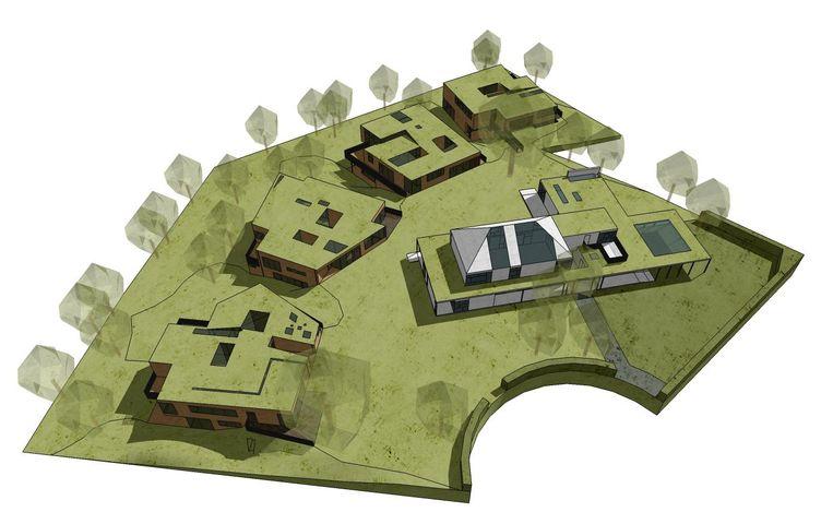 Zo zal de cohousing eruitzien.