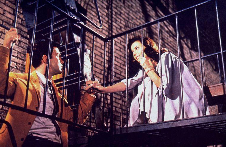 Een beeld uit de originele 'West Side Story'.