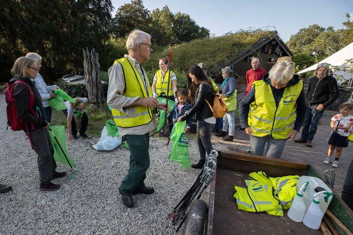 World Clean Up Day bij groendomein 't Wasven in Eindhoven