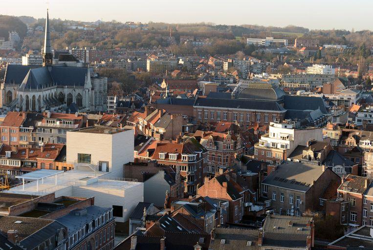 Uitzicht vanop de universiteitsbibliotheek