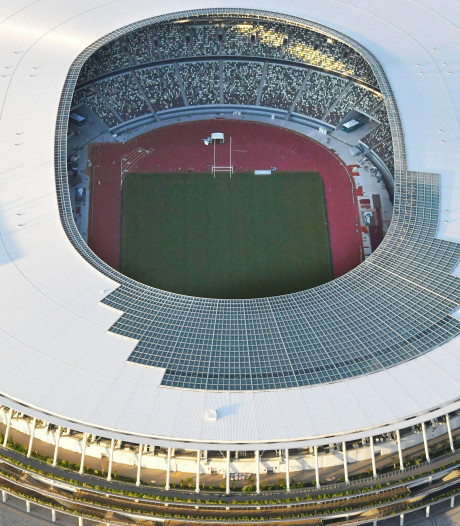 Olympisch Stadion in Tokio gereed