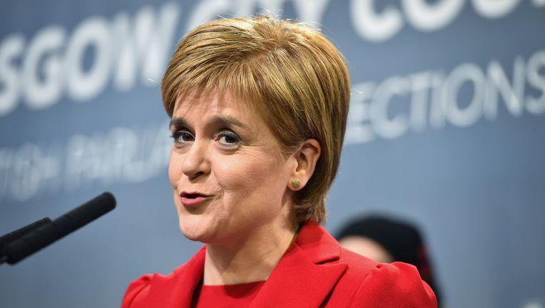 SNP-partijleider Nicola Sturgeon. Beeld getty