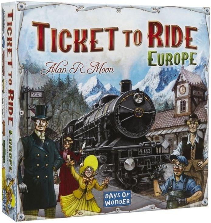 Ook bordspellen zoals Ticket to Ride doen het goed.