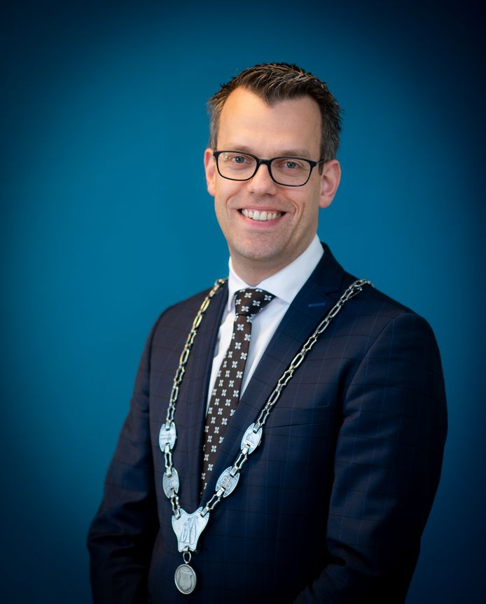 Derk Alssema, burgemeester Gilze en Rijen.