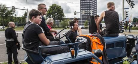 Boeren verzamelen zich opnieuw met tractoren bij Drentse Wijster voor 'kopje koffie'
