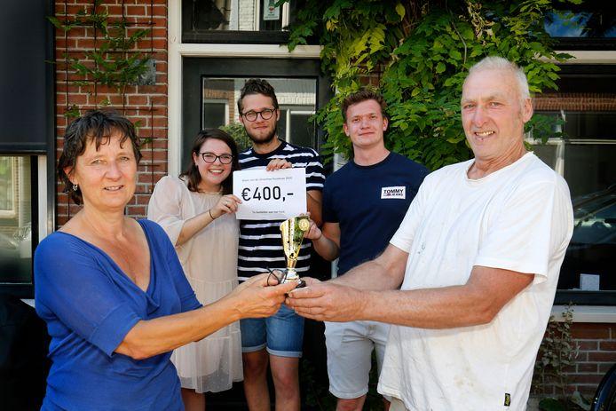 Nelleke en Nico zijn door hun huurders (Nina, Marijn en Theu) voorgedragen als beste huisbaas van Utrecht.