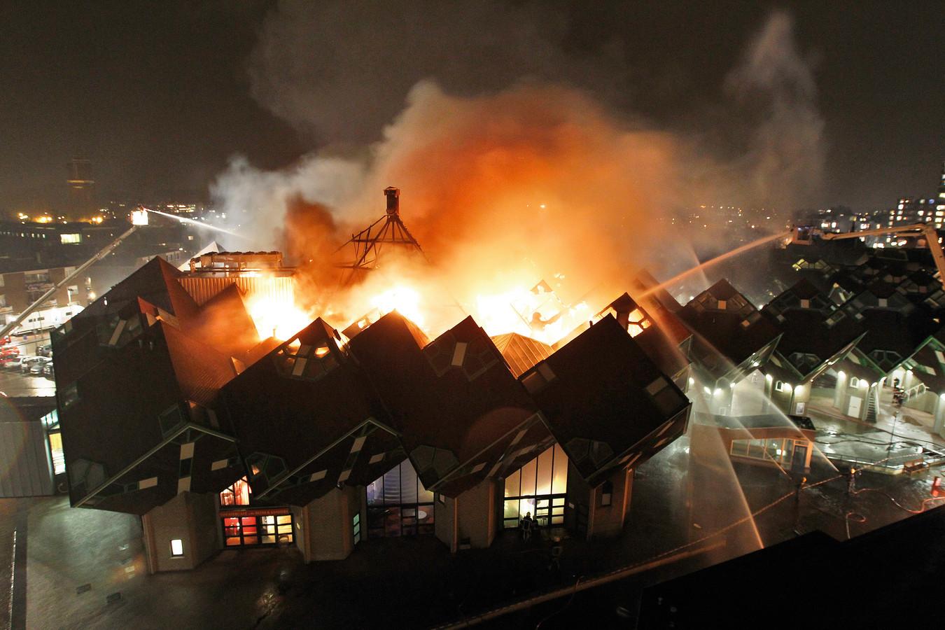 Het Speelhuis in Helmond brandde in december 2011 volledig af.