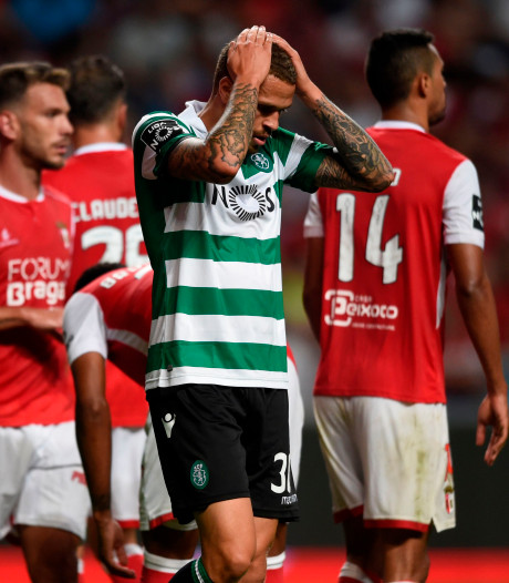Invaller Castaignos kan Sporting niet redden