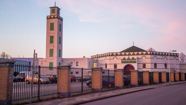 De moskee in Enschede. Beeld GinoPress