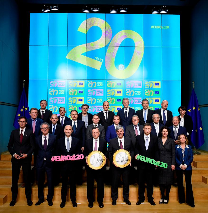 The twentieth anniversary of the Euro