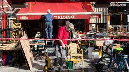"""Antwerpse leven valt compleet stil: """"Natuurlijk liever volle terrassen maar nood breekt wet"""""""