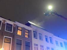 Studenten op straat na brand in Boekhorststraat