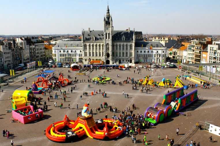 De Buitenspeeldag op de Grote Markt, gepland op 22 april, is één van de evenementen die worden geannuleerd.
