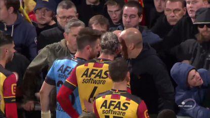 VIDEO: Mechelse spelers gaan in de clinch met eigen fans na blamage op Eupen