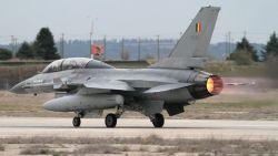 Belgische F-16 neergestort in Frankrijk