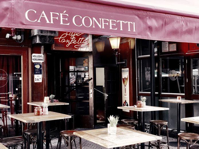 Café Confetti in Apeldoorn.