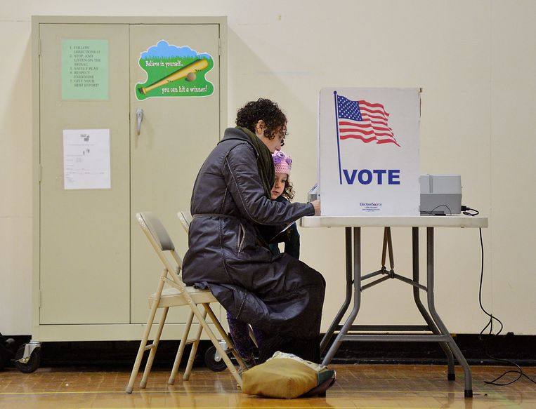 Er waren problemen met de stembureaus in Durham County, daarom mogen de stembureaus er langer openblijven.