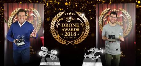 René Sebastian uit Best wint Drone Award met video over racende drones