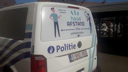 Politie Demerdal-DSZ laat wagens bestickeren tegen corona