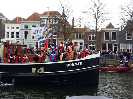 Sinterklaas gearriveerd op Schouwen-Duiveland
