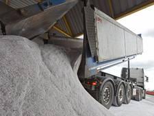 Zoutvoorraad wordt al weer aangevuld: 3 miljoen kilo strooizout naar Raamsdonksveer