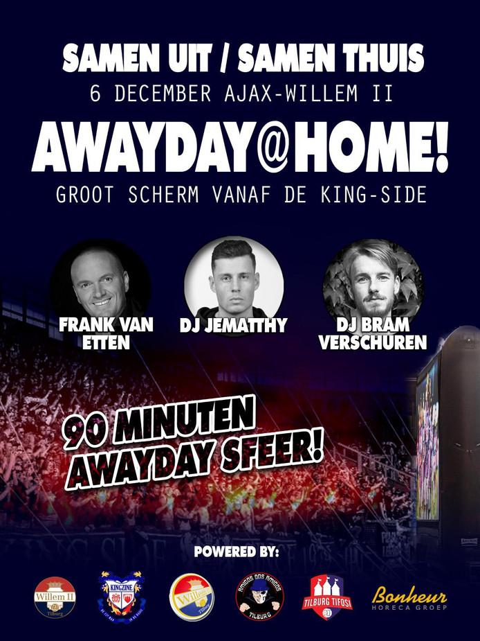 De poster van Awayday @ Home