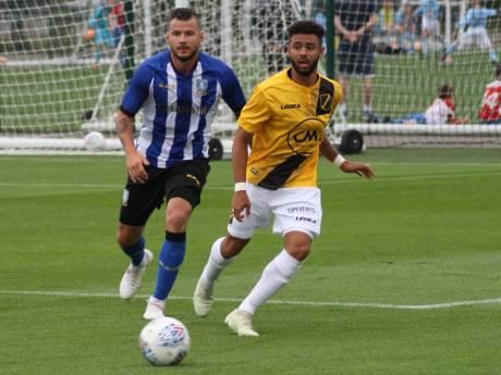 NAC onderuit tegen Sheffield Wednesday, eerste minuten Fernandes