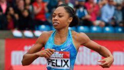 Atlete Allyson Felix zette dochtertje op de wereld met keizersnede