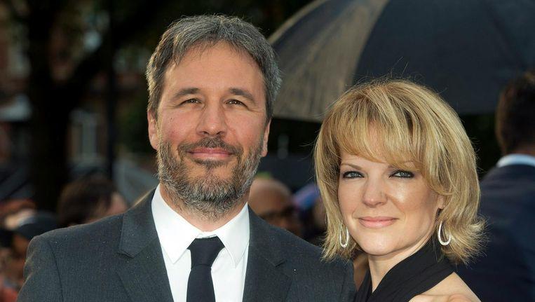Regisseur Denis Villeneuve en zijn partner Tanya Lapointe bij de première van zijn vorige film Sicario, in september 2015. Beeld EPA