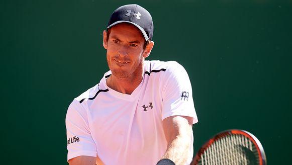 Murray werd gisteren nog verrassend uitgeschakeld in Monte Carlo