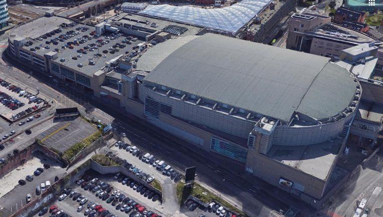 De Manchester Arena. Beeld Google Maps