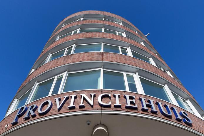 Het provinciehuis van Zuid-Holland in Den Haag