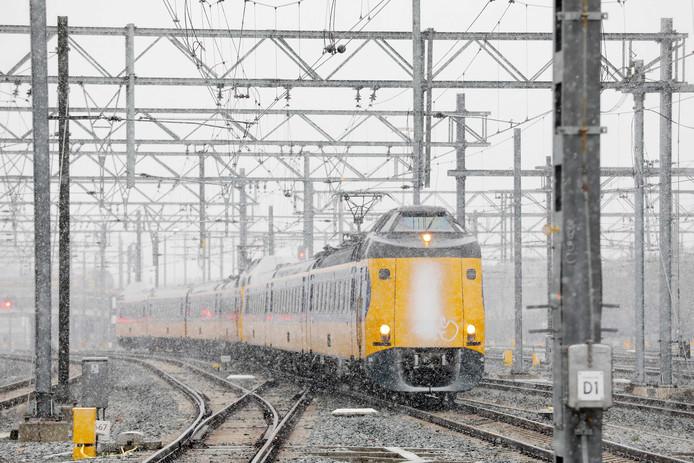 De Intercity naar Eindhoven.
