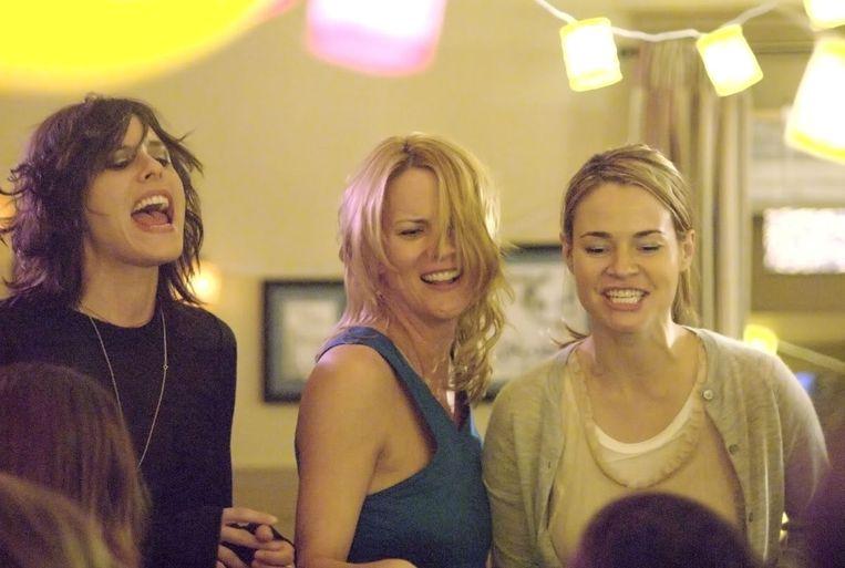 (9) The L Word (2004, kabelaar Showtime) ging met leuke volwassen lesbiënnes aan de haal. Beeld