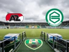 AZ in Den Haag tegen Groningen