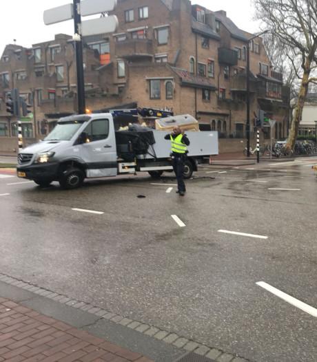 Toeter blijft loeien na ongeluk bij station Dordrecht
