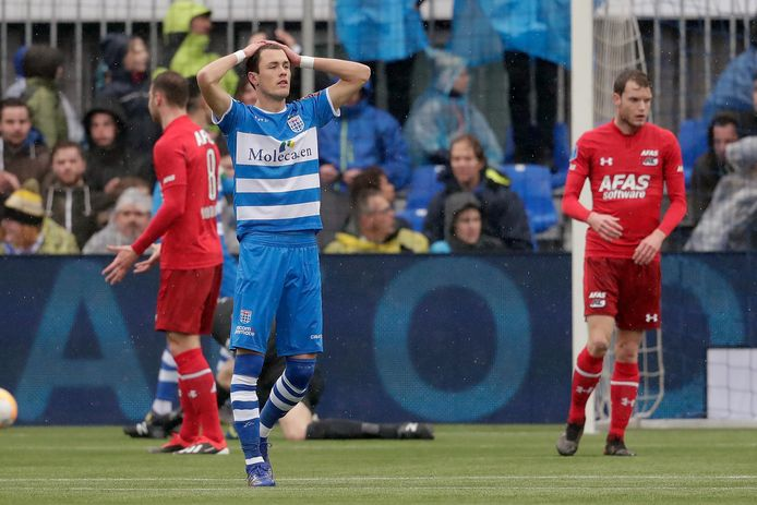 """PEC Zwolle is verdediger Thomas Lam nog zeker een maand kwijt: ,,De kans is groot dat ik een paar competitiewedstrijden mis."""""""