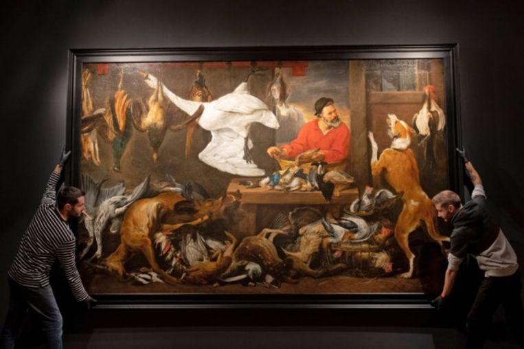 Frans Snijders schilderde vaak markttaferelen.