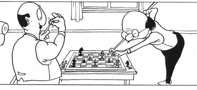 Strip van Bob van den Born Beeld .