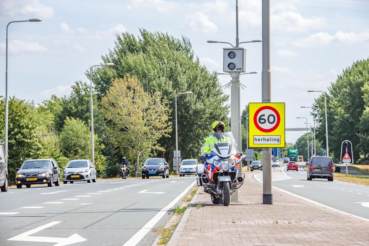 De meest lucratieve flitspaal van Nederland staat in Vreeland.