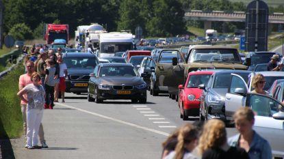 Ook dit weekend druk verkeer van en naar toeristische bestemmingen